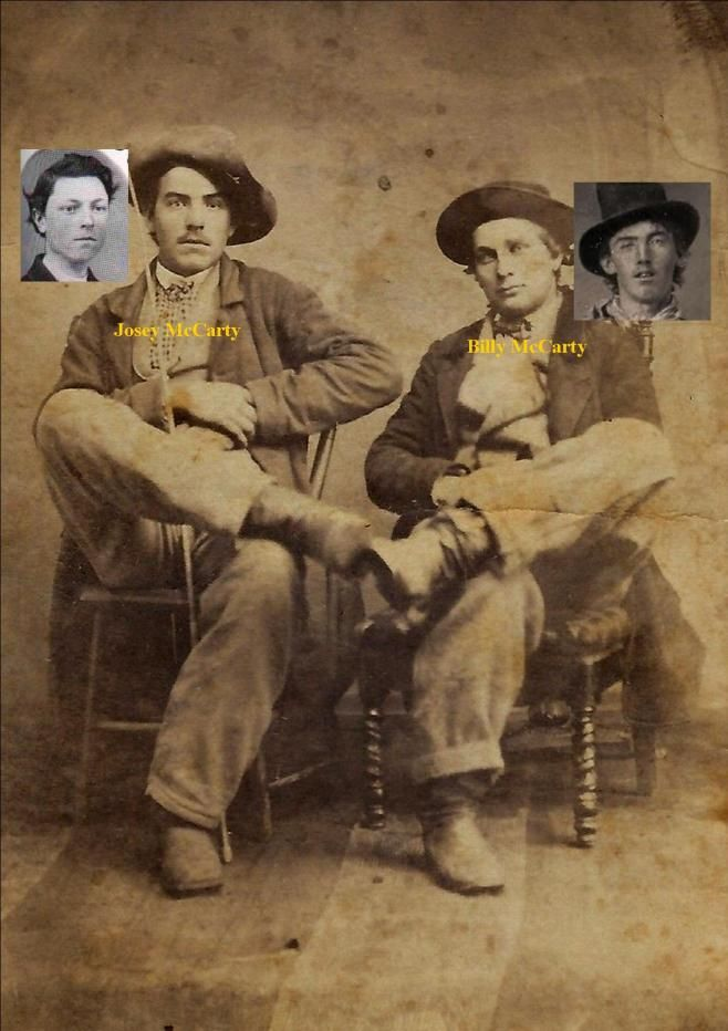 Billy And Josey Mccarty Rj Pastore Collection Billy The Kids Old West Photos Historical Photos