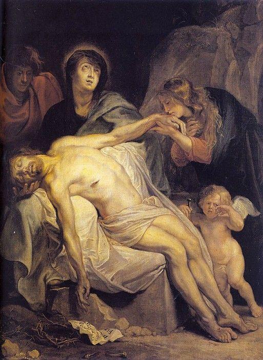 Оплакивание Христа. Антонис Ван Дейк