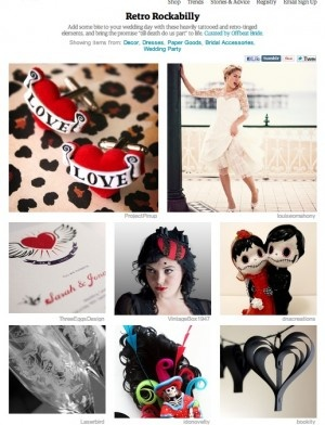 Etsy trends: Retro Rockabilly | Offbeat Bride  <3!
