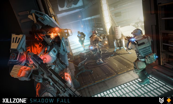 ArtStation - Killzone Shadow Fall, Fabien Christin