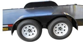 Car hauler trailers