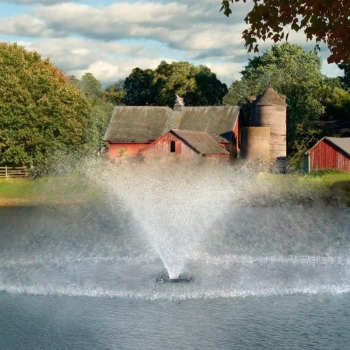 Kasco 4400hvfx 1hp 240v Pond Aerator Fountain Pond Aerator Pond Fountains Pond Water Features