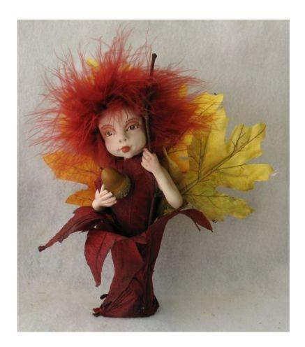 Fall Leaves Goddess OOAK Fairy http://cgi.ebay.com/ws/eBayISAPI.dll?ViewItem=150919404916