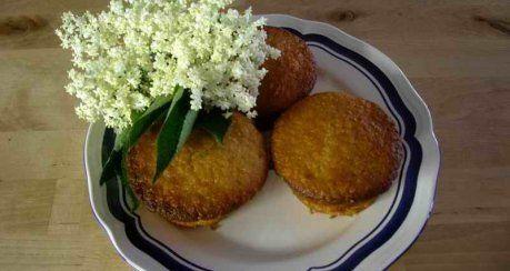 Holunderblüten-Muffins