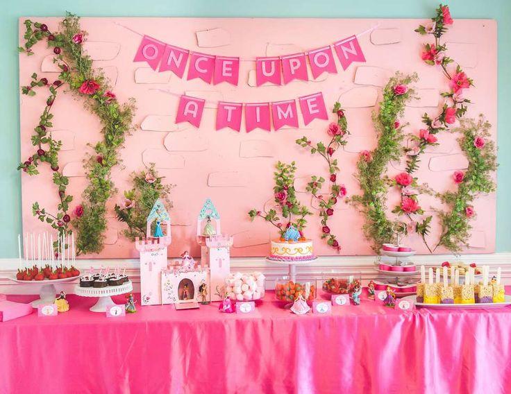 Disney Princess And Knight Birthday Sophias 7th Party