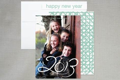 Simply New Year New Year's Photo Cards