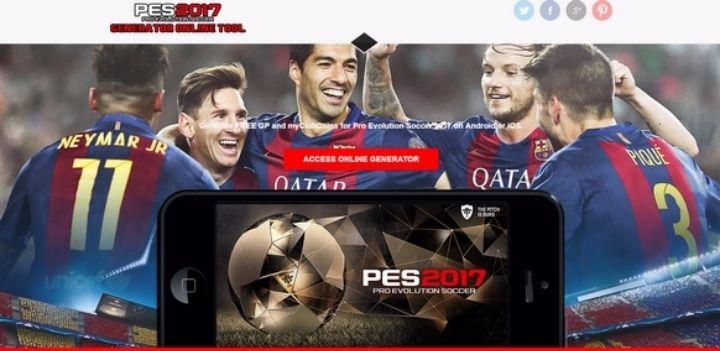 Pro Evolution Soccer 2017 Mobile Hack @  - 27-October https://www.evensi.com/pro-evolution-soccer-2017-mobile-hack/190082643