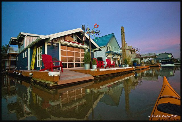 Pin By Steve Nathan On Nearby Pinterest: portland floating homes
