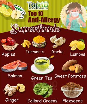 Top 10 Anti-Allergy Superfoods
