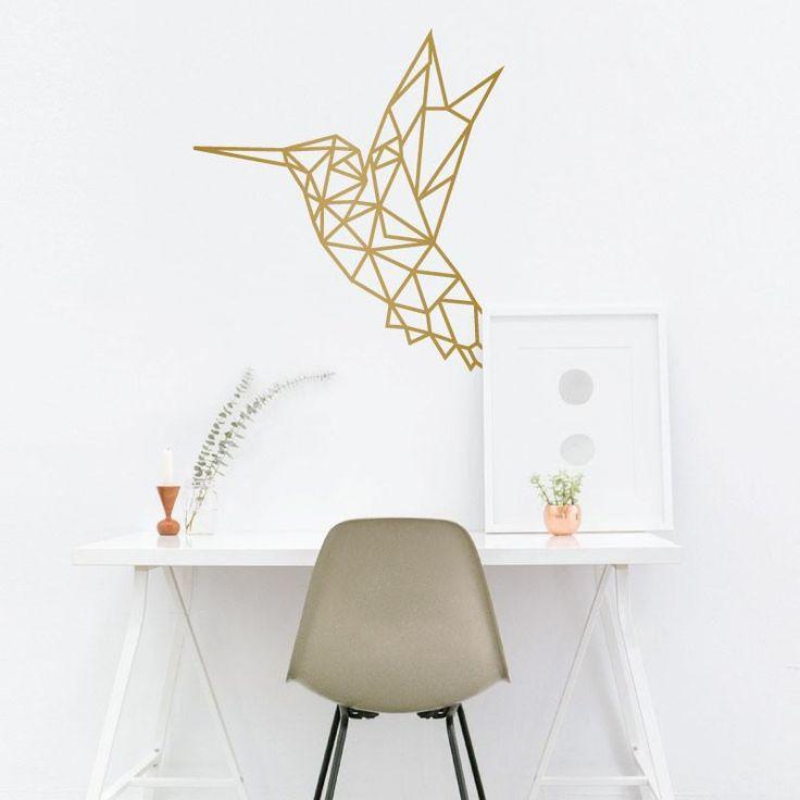 Geometric Hummingbird - Dana Decals - 1