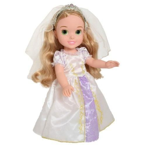 Disney Princess Toddler Doll With Dress: 17 Best Ideas About Rapunzel Wedding Dress On Pinterest
