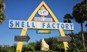 Groupon - Nature Park and Fun Park Admission for Two or Four at Shell Factory and Nature Park (Up to 50% Off) in North Fort Myers. Groupon deal price: $17