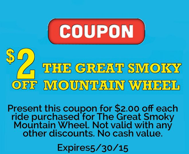 Discount coupons for pigeon forge attractions