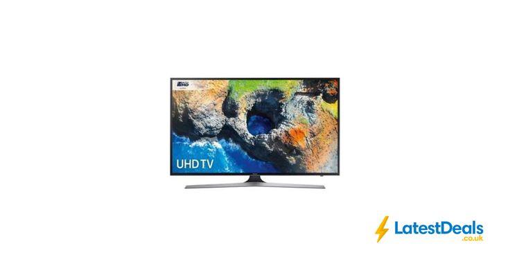 New Samsung 50 Inch Smart LED 4K Ultra HD TV plus LED TV at AO/ebay, £449