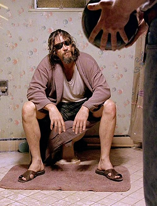 "Jeff Bridges (December 4, 1949 - ) as Jeffrey Lebowski 'The Dude' in ""The Big Lebowski"", 1998. age 49 #actor"