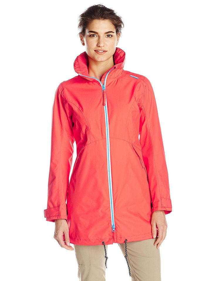 Helly Hansen Women's Laurel Long Rain Jacket >>> Want to know more, click on the image.