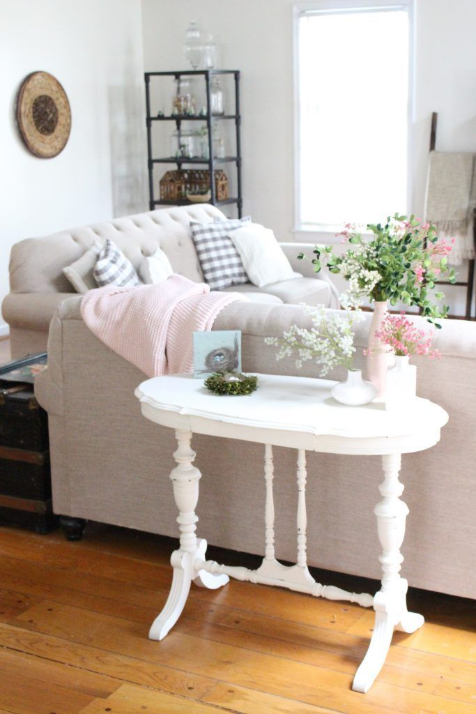 Adding Spring Decor With Kirkland S Flower Market Home Decor Small Living Room Layout Rooms Home Decor