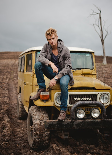 Luke Mitchell would play the cute Australian boy in my new story i'm working on. I love him <3