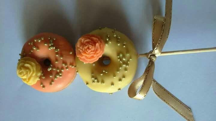 Minidonnuts naranja
