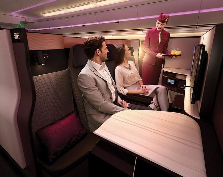 Qatar Airways has recently unveiled their new business class seats—the Qsuites—which will be available on their new Boeing 777-300ER beginning this June, and they are the first of its kind. The middle ...