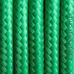 Przewód zasilający Soczysta Trawa od Kolorowe Kable- zielony kabel - casa-bella - oświetlenie to nasza pasja