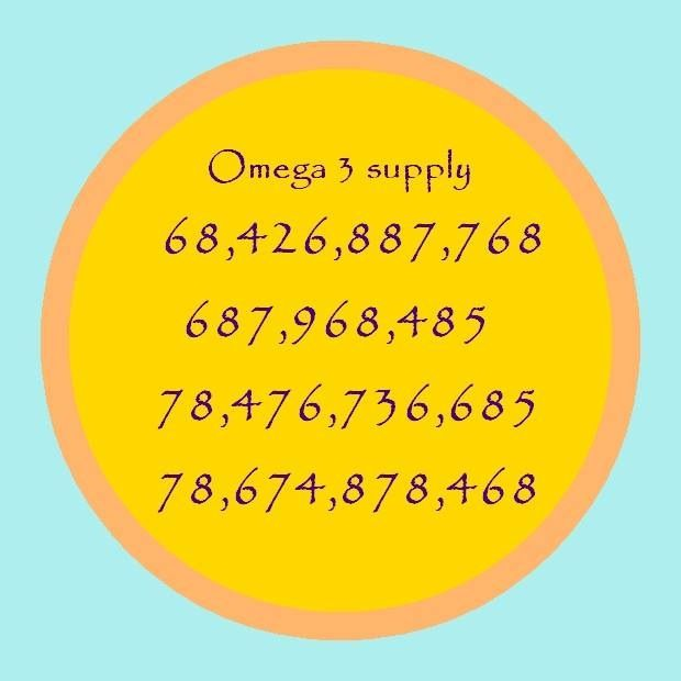 Lloyd's numbers for Omega 3