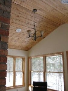 Vaulted wood ceiling :) | Home | Pinterest | Ceilings, Woods and Ceiling