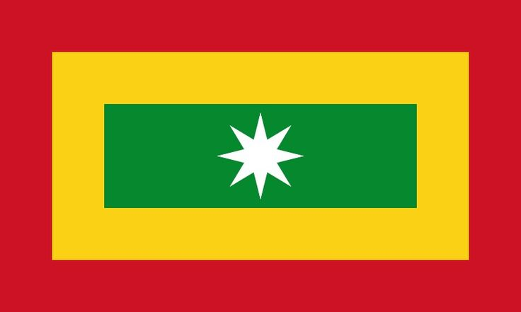 Flag of Barranquilla, Colombia