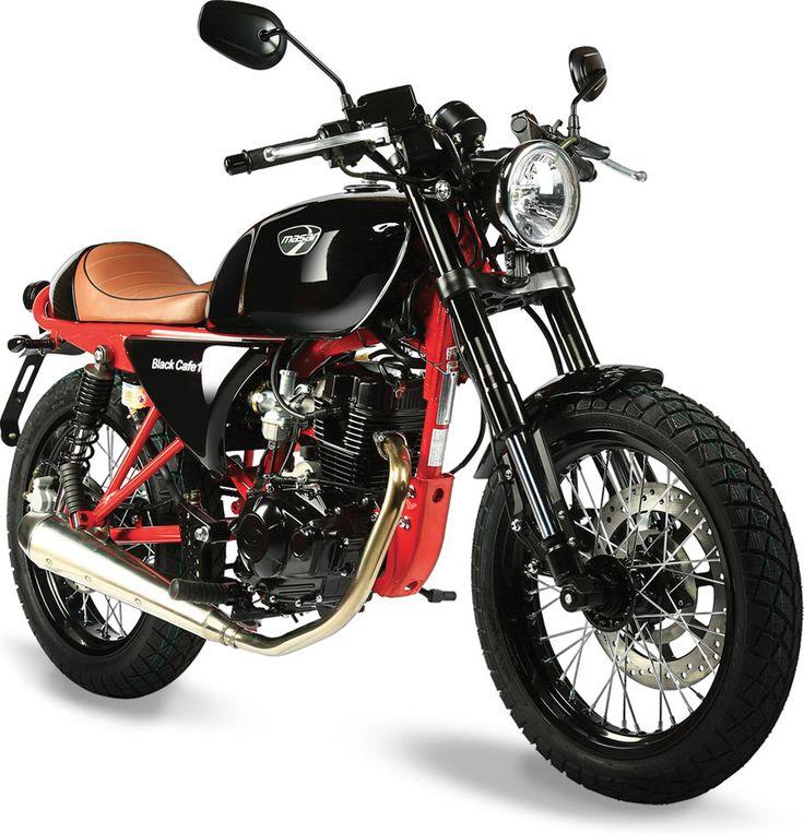 Vintage honda cb160 silenciadores de la motocicleta