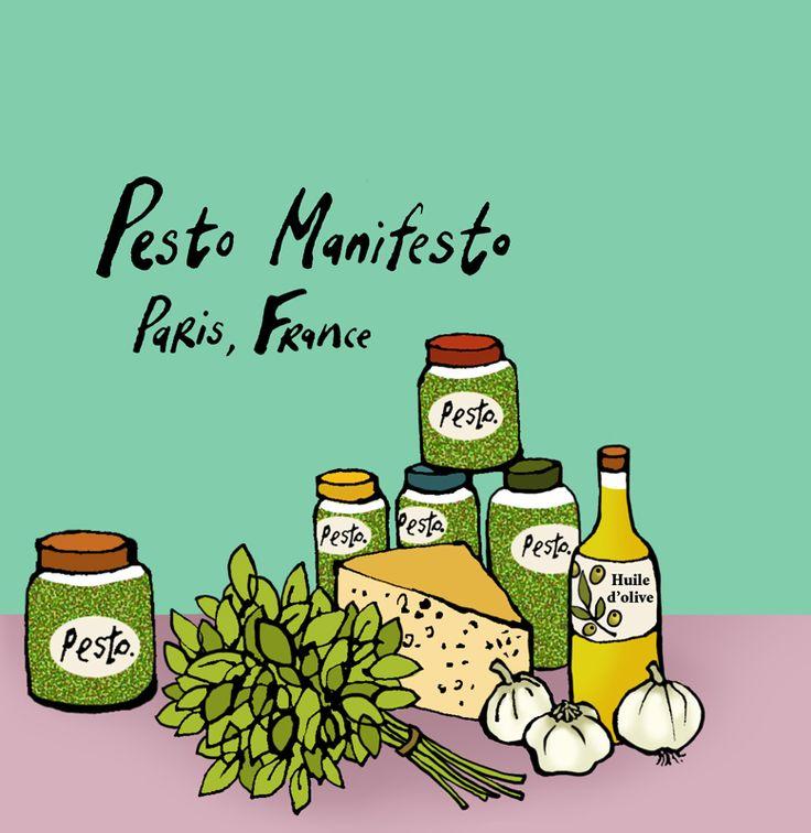 #emmabrownjohn #newdivision #illustration #digital #line #stylised #food #olives #pesto