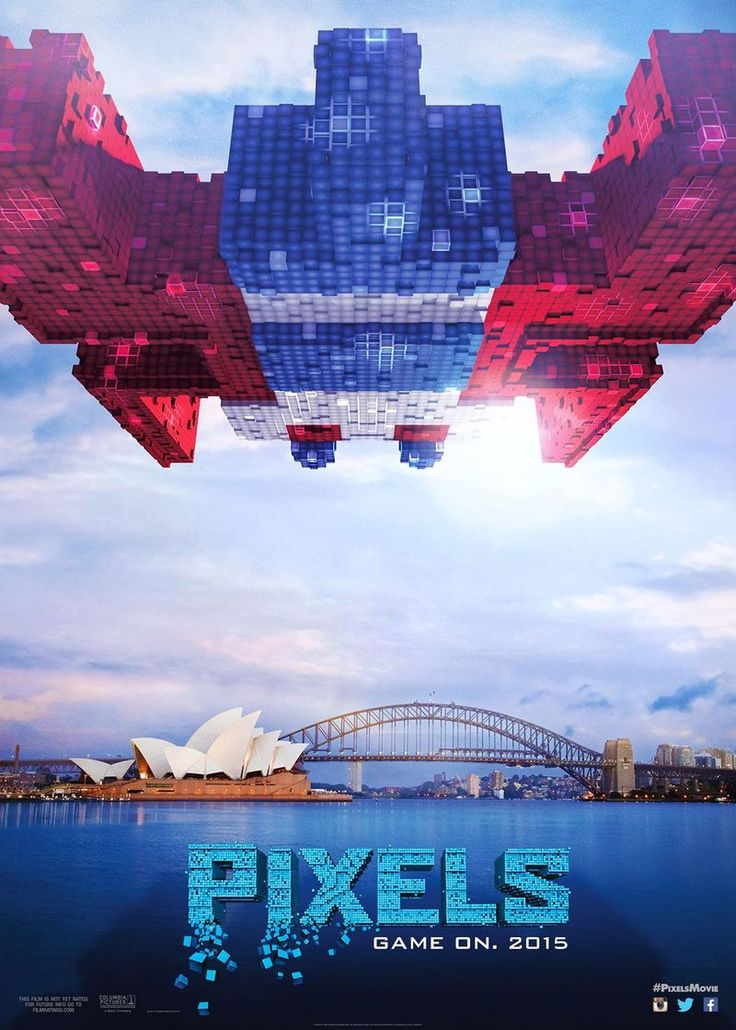 Pixels The Movie - Sydney