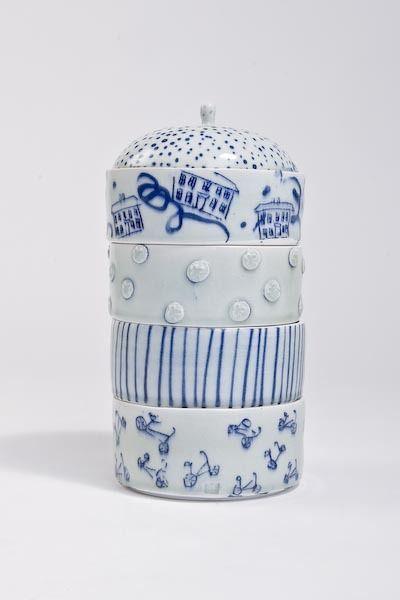 Adam FrewCeramic Bowls, Frew Ceramics, Adam Frew Lov, Stacked Ceramics, Bicycles Adam, Blue You, Adamfrew2010 0122 Jpg, Ceramics Bowls, Adamfrew2010 0108 Jpg