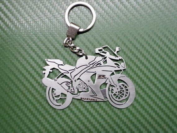 Key Chain For Suzuki Gsxr 1000 Ready To Ship Bike Keychain