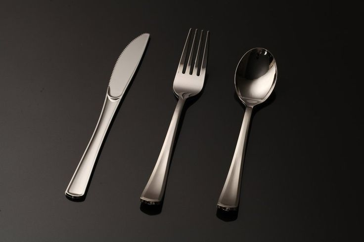 Buy good quality disposable plastic Silverware 360 Combo Pack Cutlery Silver set online for wedding, party & catering event. Shop Online Now!