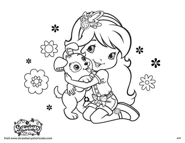 141 best images about strawberry shortcake coloring pages for Coloring pages strawberry shortcake and friends