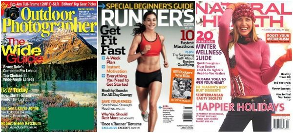 Magazine Deals 4/9 Outdoor Photographer, Runner's World, Natural Health Magazine Up To 88% Off Today Only #magazine #hotdeals #sale
