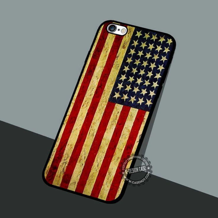 American Flag Painting - iPhone 7 6 5 SE Cases & Covers #art
