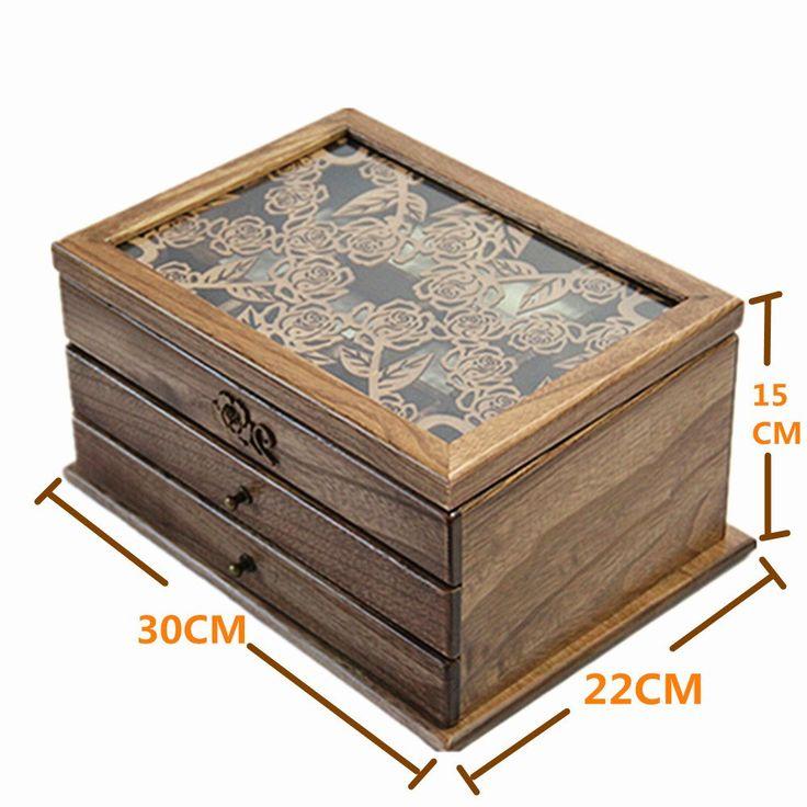 Holz auf Pinterest  Schmuckkasten Holz, Schmuckkasten und