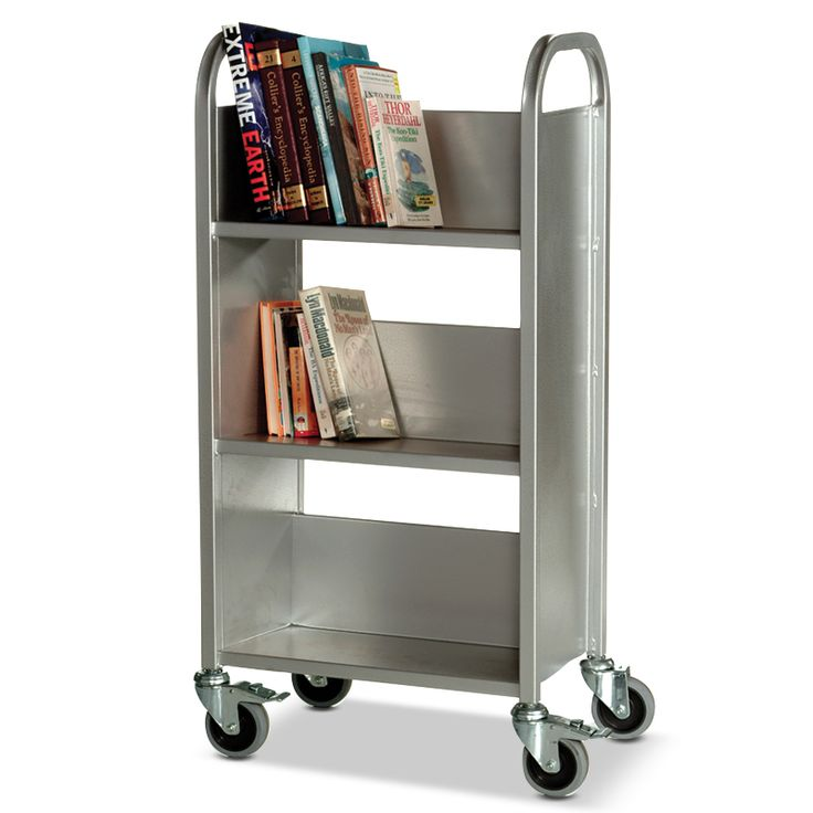 Compact Book Trolley