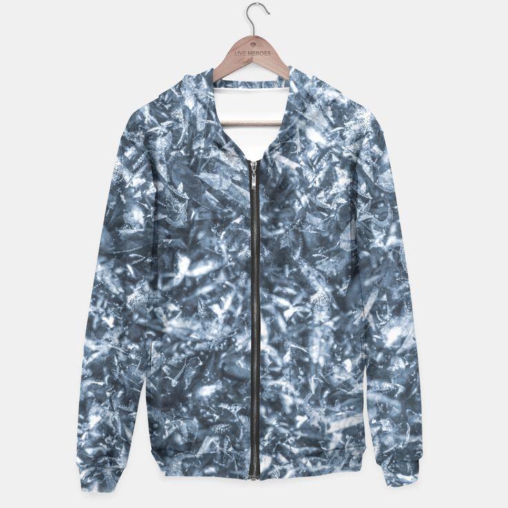 frozen,cold,autumn,winter,ice,leaves,chaos,kalt,herbst,blue,fun,energy,vitality,gefroren,shop, shoponline,hoodie, apparel