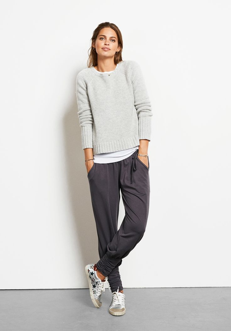 hush | Wool/Cashmere Crew Neck Jumper