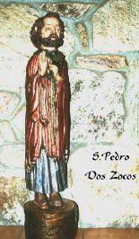 Imagen de S. Pedro en madera de cerezo