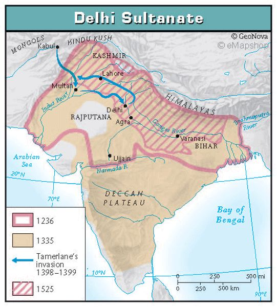 Delhi Sultanates