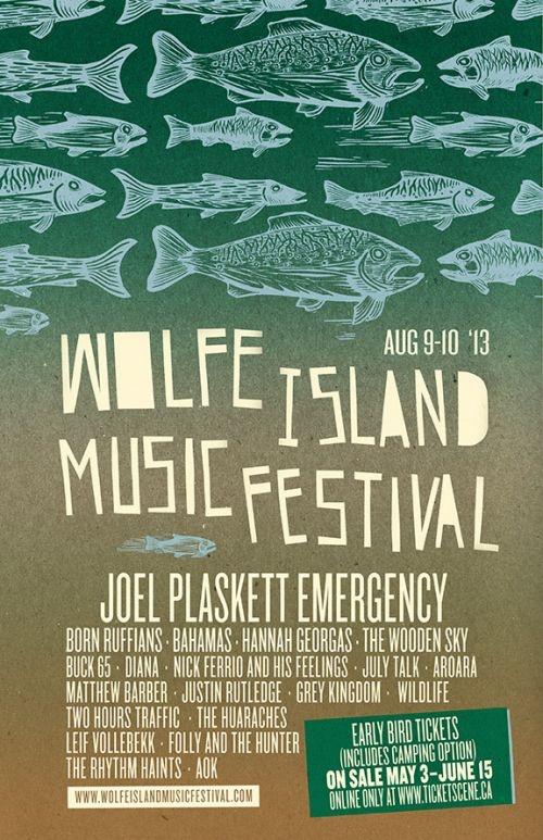 Wolfe Island Music Festival 2013  http://www.ticketscene.ca/wolfe-island-music-festival/