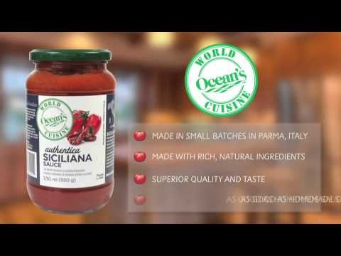 Review: Ocean`s World Cuisine Pasta Sauce #fromtheheartofitaly #allnatural #loveitaly #lovepasta @authenticaworld
