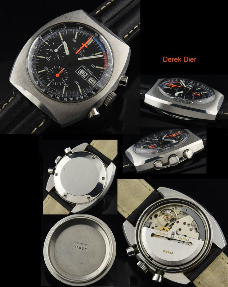 Lemania 5100 Chronograph Rare! - WatchesToBuy.com