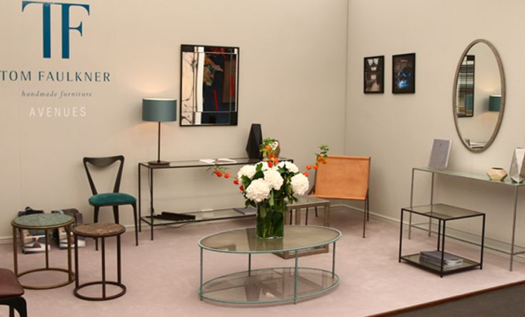 Avenues collection at #Decorex - #console tables, #coffee_tables & #side_tables.