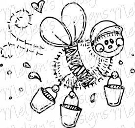 Meljen's Designs Digital Stamp Shop, cute and whimsical designs including mice, teddy bears, children and more!