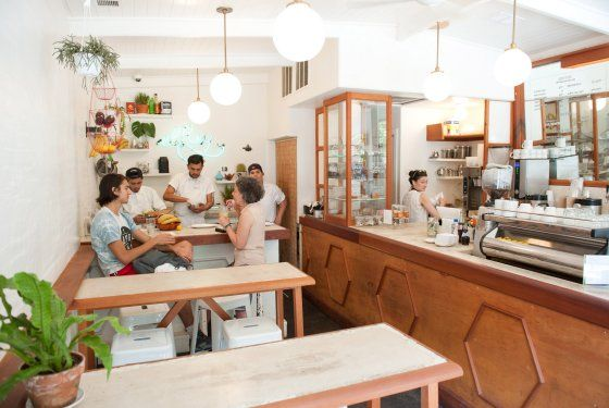 Grub Street — The New Wave of Light, Beachy New York City Cafés