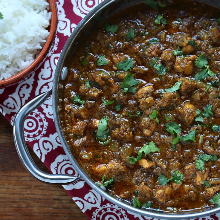 Chicken Xacuti.  A classic dish from Goa, India. #chicken #indianfood #paleo daringgourmet.com
